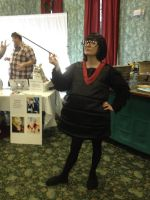 Edna Mode Cosplay by LeafyWildFlower