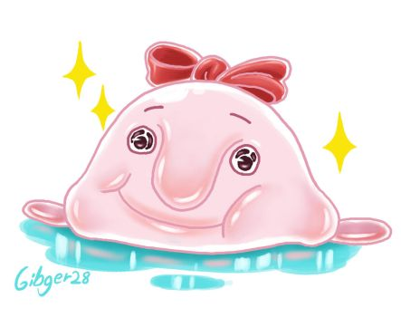 Cute BlobFish by Gibger