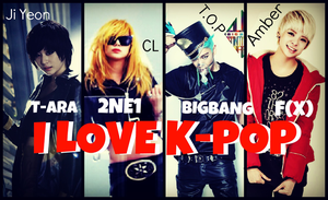 COLLAGE.~ I LOVE KPOP by Solita-San