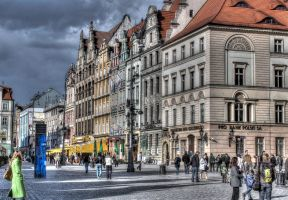 Main Square V by Athrian