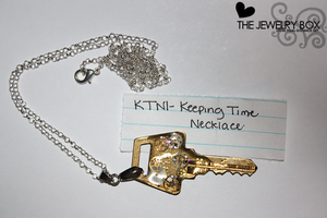 Keeping Time Necklace by artbytiffany