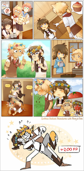 Goddess Festival with Morg + Tobi! by Whoodles
