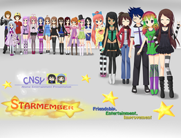 StarMember 1st Year Anniversary (Promo Billboard) by RJAce1014