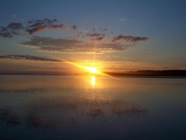 Sunrise In Richibucto by Telekenisis