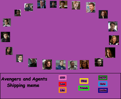 Marvel ship meme by NightPanic