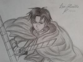 Levi Rivaille by nuriareinah