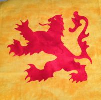 The Lion Rampant by Stitchwich