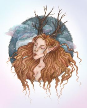 Dreaming yet again by Persephore