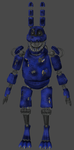 Nightmare Bonnie Fnaf 4 by RealMoonlight