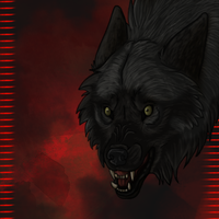 Aria Snarly Icon - Commission by lucidcoyote
