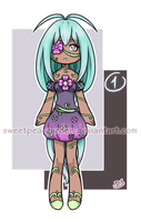 Leftover Adoptable -CLOSED- by Sweetpea-Garden