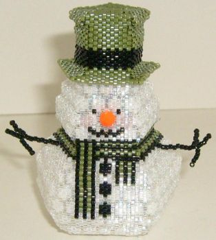 Snowman Box 1 - SOLD by JustBelieveCreations