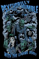 Psychobilly Rumble Full Color by zombie-you
