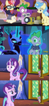 Spike gets all the mares in Season 5 finale by titanium-pony