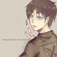 Eren Jaeger by ChocoBandana