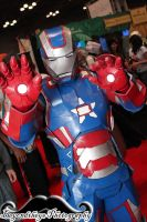 Patriot Iron Man at NYCC 2013 by Beyondtheye