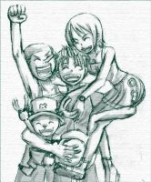 One piece sketch by lainchan