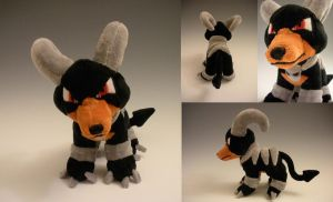 Hounddoom Plush by WhittyKitty