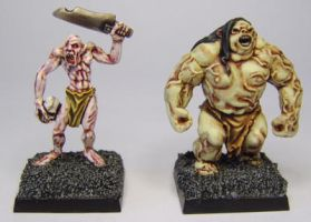 MORDHEIM Ghouls by FraterSINISTER