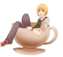 Barista Armin by Monksea