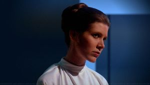 Carrie Fisher Princess Leia XLV v3 by Dave-Daring