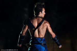 Jann Lee - Dead or Alive 5 Cosplay by Leon Chiro by LeonChiroCosplayArt