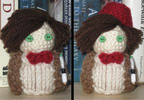 11th Doctor Amigurumi by Craftigurumi