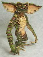 Neca Green Gremlin re-paint by mangrasshopper
