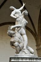 Uffizi Gallery sculpture garden 1 by wildplaces