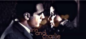Erin Reagan and Charlie Rosselini by bubblenubbins