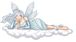 Ethereal Cloud fairy by AnneHelene