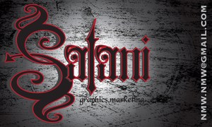 satani business card by Glacier-Grrl