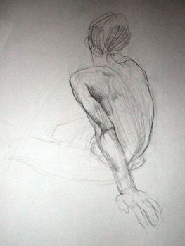 Life Drawing 2 by roughin