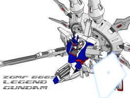 legend gundam by yohkou