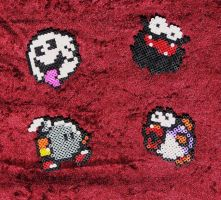 Beads - Mario characters 2 by Oggey-Boggey-Man