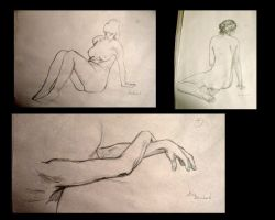 Study of a woman's body 01 by Tyliss