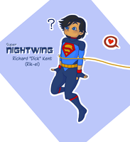 (Super) Nightwing Dick Grayson by kiotsukatanna