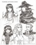 VHD - Volume 1 major characters by Taralen