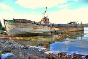 Old Boats by nikonnutter