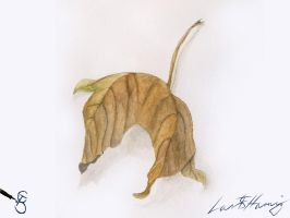 Leaf Aquarelle by Starcat666