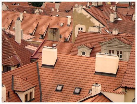 Roofs of Prague by sarper