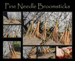 Pine Needle Broomsticks by Tennessee11741