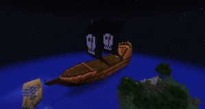 Pirate Ship by SoloSwain
