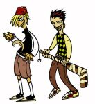 pete and timon by vincent-grey