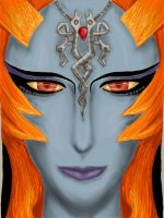 It's Midna's FACE by Konneh