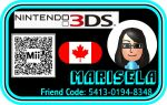 Marisela's 3DS Card by KStarboy