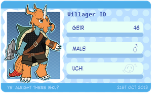 DC: Geir the Zudomon by Lockmon