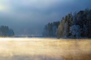 mystical winter II by KariLiimatainen