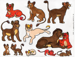 stickercustom: lionpalooza by shelzie