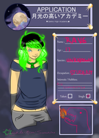 I Glow Application by TrippyOctopus